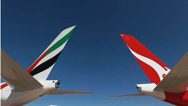 Qantas, Emirates to apply to extend commercial alliance